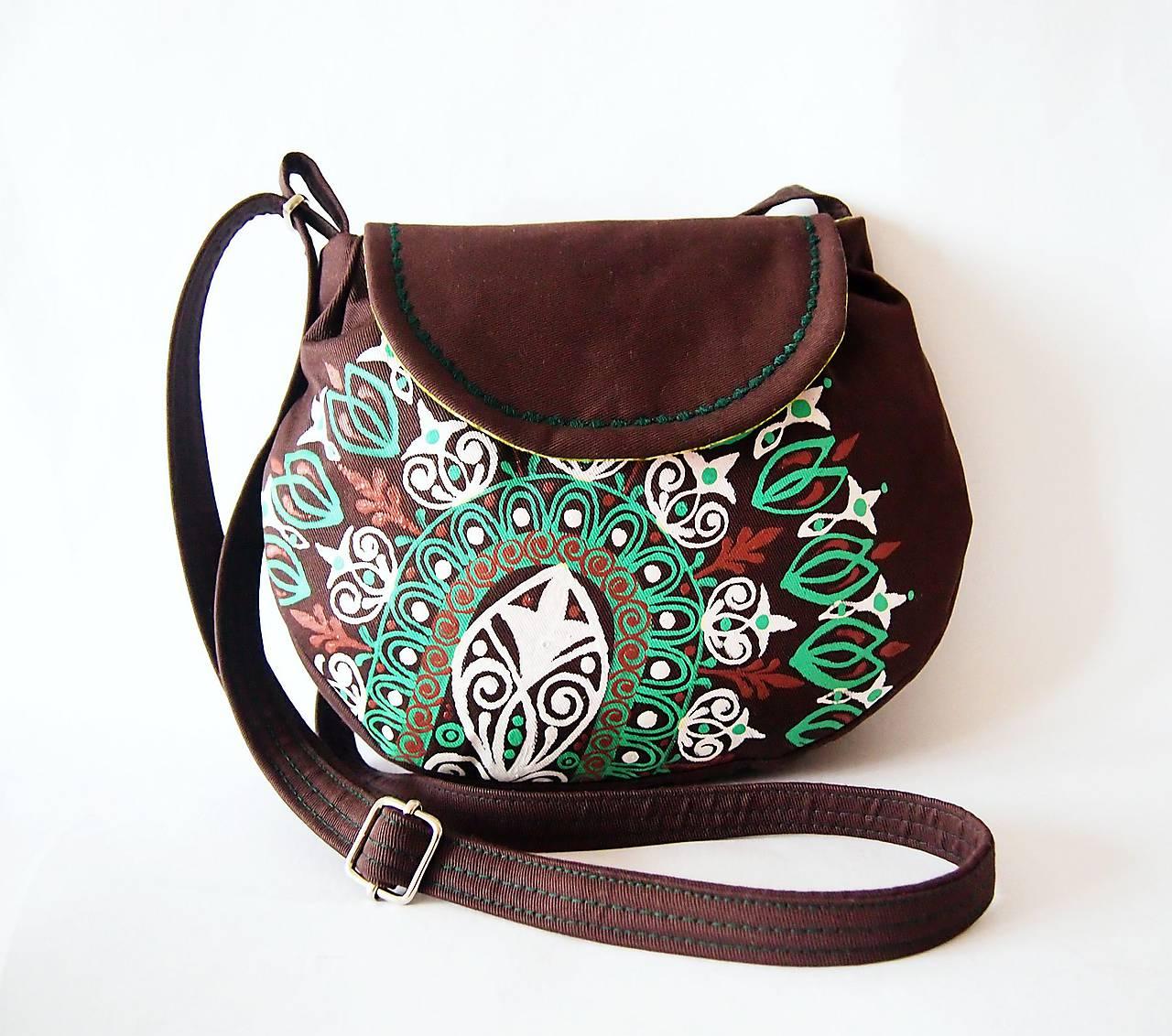 Hnedo-zelená kabelka na želanie   DARTASKA - SAShE.sk - Handmade Kabelky bca30bfda0d