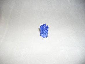 Prstene - Modrá sieťka - 7714125_