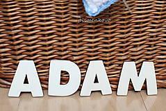 Tabuľky - Nápisy z drevených písmen - 7711324_