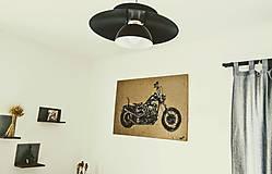 Iné - Maľovaný obraz pre motorkára - 7711234_