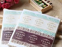 Papier - Samolepka Thank You - 7714172_