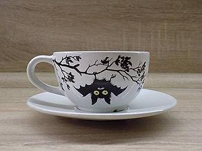 Nádoby - Šálka - Hanging Bat - 7713749_