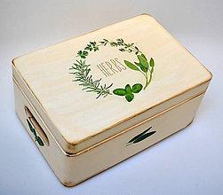 Krabičky - Bylinková bednička Herbs - 7712873_