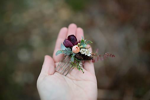 """Kvetinový mini hrebienok """"lesné tajomstvá"""" - 2"""