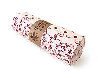 Textil - Bavlnené látky - rolka White and Red - 7711116_