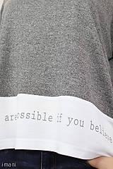 Tričká - Dámske tričko BAMBUS 02 POSSIBLE - 7711329_