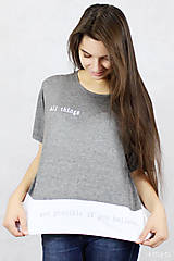 Tričká - Dámske tričko BAMBUS 02 POSSIBLE - 7711333_