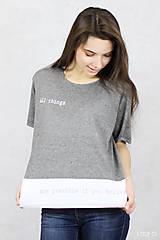 Tričká - Dámske tričko BAMBUS 02 POSSIBLE - 7711334_