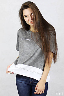 Tričká - Dámske tričko BAMBUS 02 POSSIBLE - 7711335_