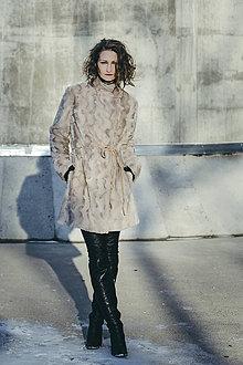 Kabáty - DÁMA v BÉŽOVÉ - kabátek - 7714748_