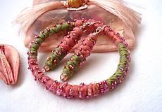 Sady šperkov - Náramok a náušnice - 7715705_