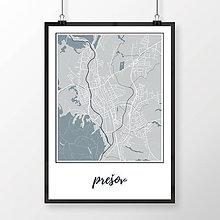 Grafika - PREŠOV, klasický, svetlomodrý - 7715680_