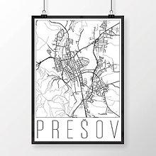 Grafika - PREŠOV, moderný, biely - 7715691_