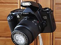 Svietidlá a sviečky - Canon EOS-500 foťák (stolná lampa) - 7717833_