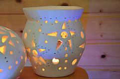 Svietidlá a sviečky - Svícen hvězdičkový - 7715270_