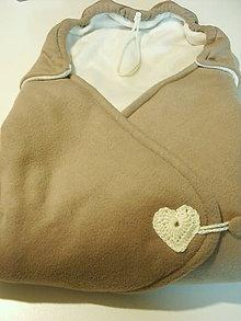 Textil - zavinovačka flis - 7715458_