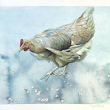 Obrazy - Jaro na dvorku - originál, akvarel - 7717874_