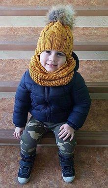 Detské čiapky - setik - 7720835_