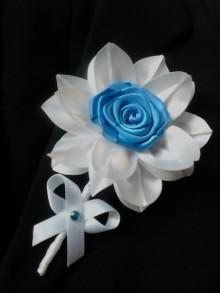 Pierka - Pierko pre ženícha modré - 7722120_