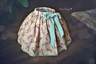 Detské oblečenie - suknička 2v1 - 7719422_
