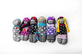 Iný materiál - Urob si bábiku - tvorivý balíček s návodom - 7719781_