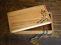 Krabičky - Truhlička, šperkovnica - 7719452_