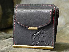 Peňaženky - Kožená dolarovka - Zvířecí - 7722641_