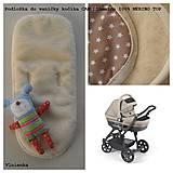 Textil - Podložka do vaničky kočíka Cam Dinamico 100% merino - 7722922_