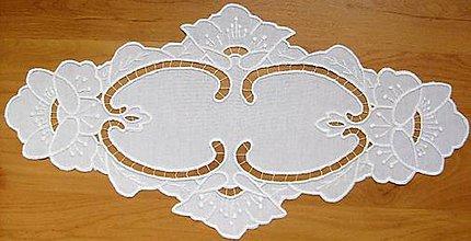 Úžitkový textil - Maky, richelieu - 7719116_