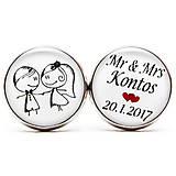 Šperky - Mr & Mrs - 7721171_