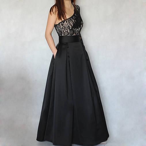 Spoločenská skladaná sukňa s tylovou spodničkou rôzne farby