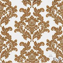 Papier - ornament v zlatom 3 - 7718750_