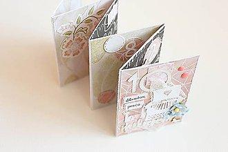 Papiernictvo - Leporelo - 10 dôvodov prečo Ťa milujem - 7721052_