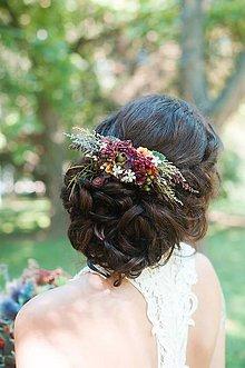 Ozdoby do vlasov - Hrebienok pre nevestu