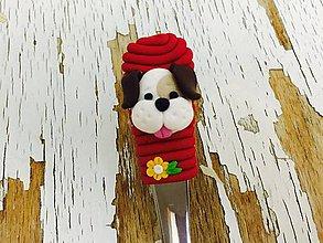 Pomôcky - lyžička so psíkom - 7719774_
