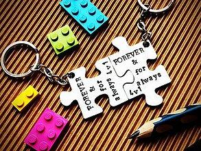 Kľúčenky - FOREVER .... & ALWAYS - 7726299_