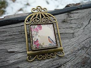 Odznaky/Brošne - Brož Romantická klec - 7727314_