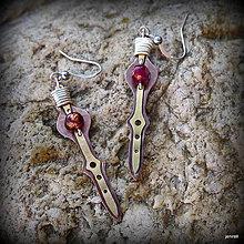 Náušnice - Infinity blades - 7725261_