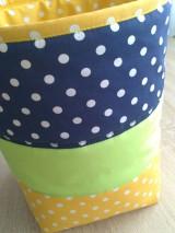Textil - Látkový, úložný kôš na hračky.. - 7724290_