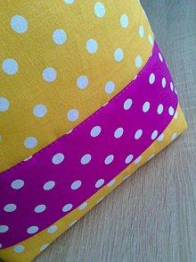 Textil - Látkový, úložný kôš na hračky.. - 7724257_