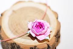 Náhrdelníky - Šípová ružička - prívesok - 7726622_