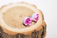 - Šípové ružičky - náušnice - 7726645_