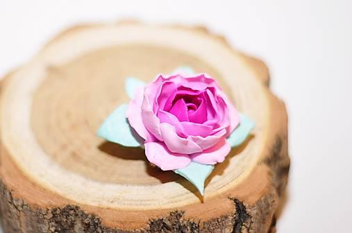 Šípová ružička - brošňa