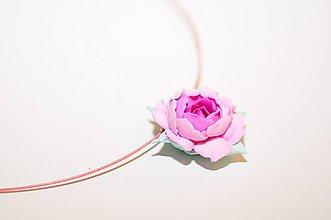 Náhrdelníky - Šípová ružička - prívesok - 7726621_