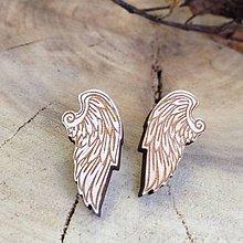 Náušnice - Krídla anjelov - 7725653_