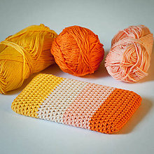 Na mobil - Obal na mobil - oranžovo-žltý :) - 7724080_