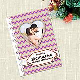 Papiernictvo - Zamilovaný projekt s fotkou 14 (cik-cak) - 7727337_