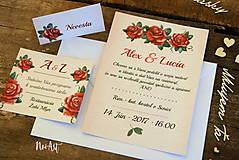 Papiernictvo - Svadobné oznámenie 14 - 7730580_