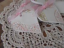 Darčeky pre svadobčanov - Svadobné magnetky s menovkami - púdrový dotyk ranného slniečka:-) - 7729785_