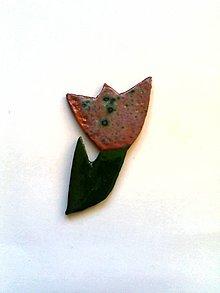 Odznaky/Brošne - tulip - 7730383_